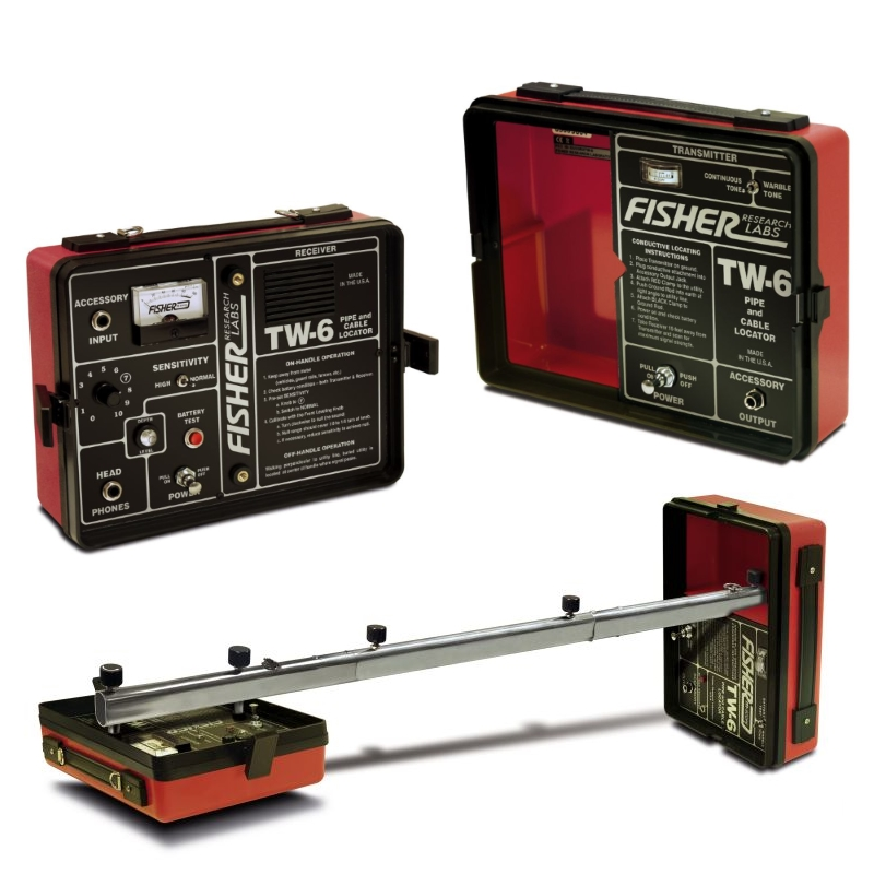 Wire Locator Rental : Fisher tw pipe and cable locator rental enviro