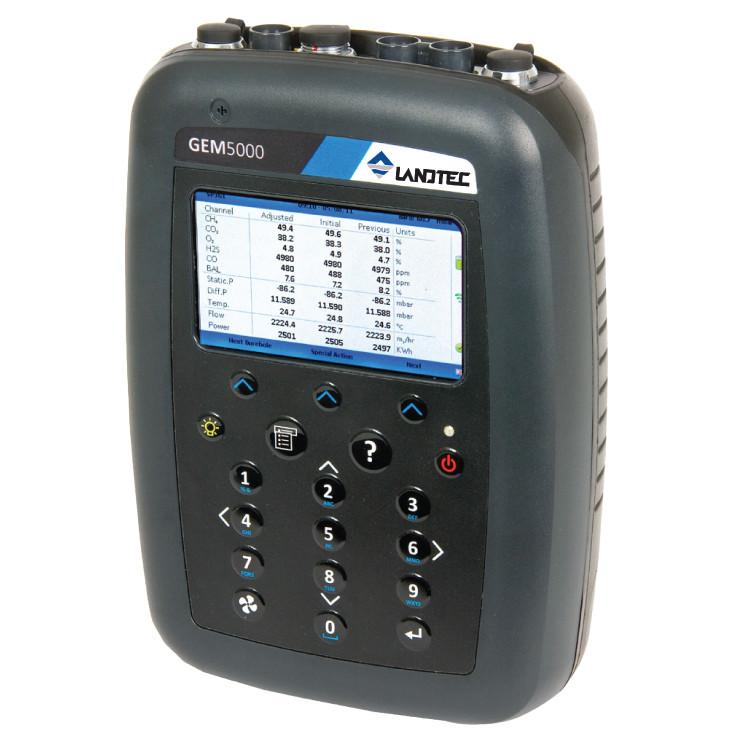 Landtec Gem 5000 Plus Landfill Gas Monitor Rental Enviro