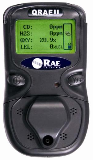 4 Gas Meter : Rae systems qrae ii four gas meter enviro equipment inc