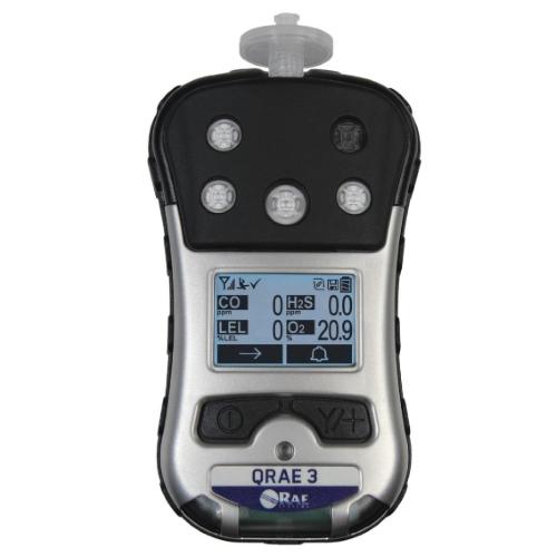 Rae Systems Qrae 3 Four Gas Monitor Enviro Equipment Inc