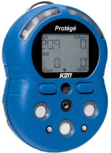 Scott Protege Multi Gas Monitor Enviro Equipment Inc