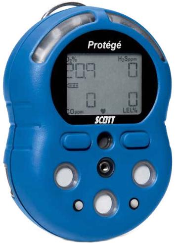 Portable Gas Detection >> Scott Protege Multi-Gas Monitor | Enviro-Equipment, Inc.