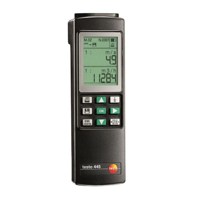 Testo 445 Flow Temperature Rh Instrument Enviro