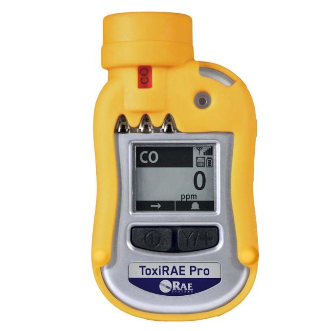 Rae Systems Toxirae Pro Carbon Monoxide Monitor Rental