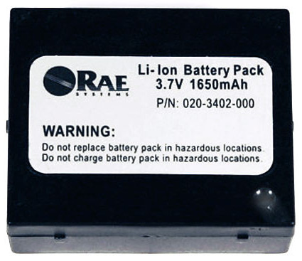 Rae Systems Qrae 2 Rechargeable Battery 020 3402 000