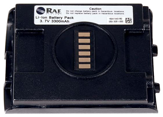 Rae Systems Rechargeable Li Ion Battery 059 3051 000