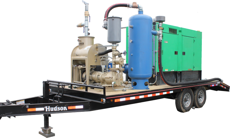 Dual Phase Extraction Remediation System Rentals Enviro