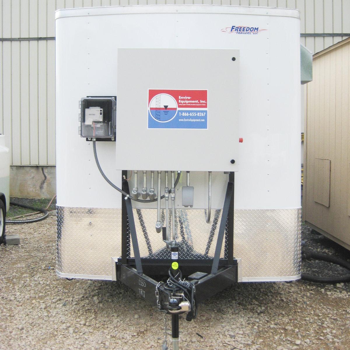 Eei 1322 Air Sparge Soil Vapor Extraction Trailer Enviro