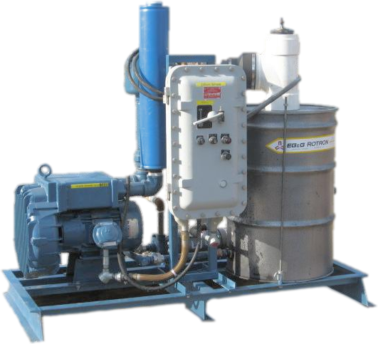 Used soil vapor and dual phase extraction systems enviro for Soil 3 phase system