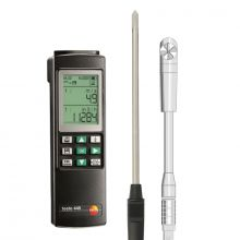 Testo 445 Relative Humidity and Vane Anemometer Rental