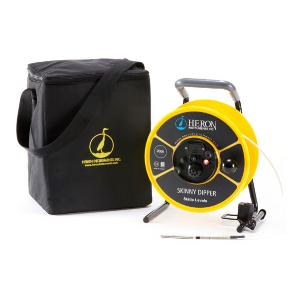 Heron Skinny Dipper Water Level Meter Rental with bag