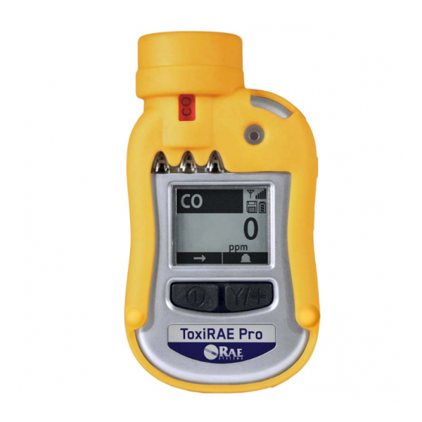 RAE Systems ToxiRAE Pro Toxic Single Gas Monitor