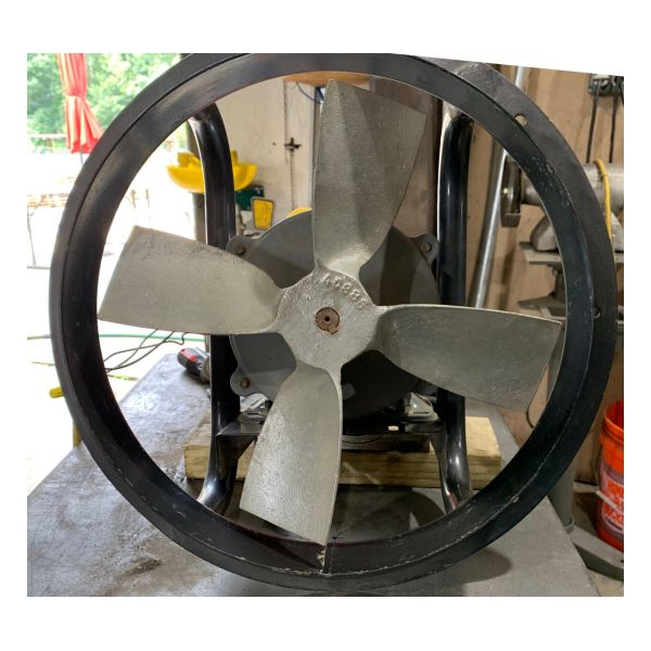 "Used 12"" Dayton XP Exhaust Fan Stock #1382"