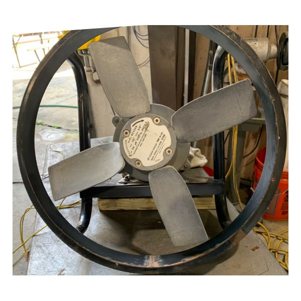 "Used 12"" Dayton XP Exhaust Fan Stock #1390"