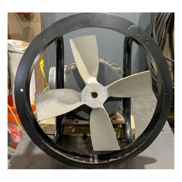 "Used 12"" Dayton XP Exhaust Fan Stock #1393"