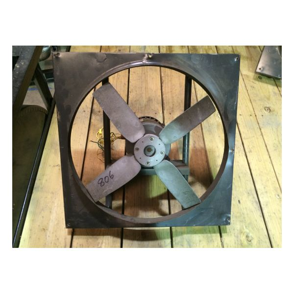 "Used Dayton 20"" XP Exhaust Fan Stock #806"