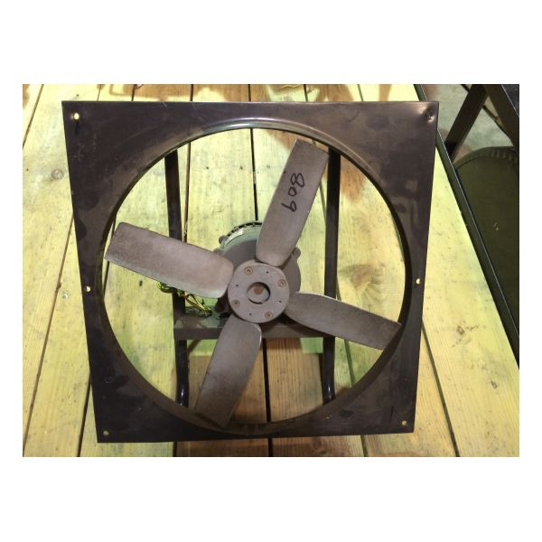 "Used 20"" Dayton XP Exhaust Fan Stock #809"