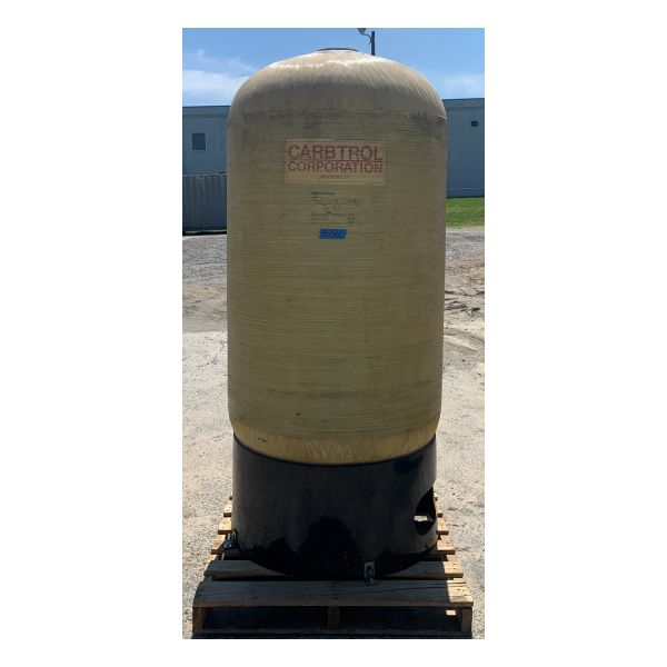 Used Carbtrol 1,000lb Carbon Vessel Stock #1554