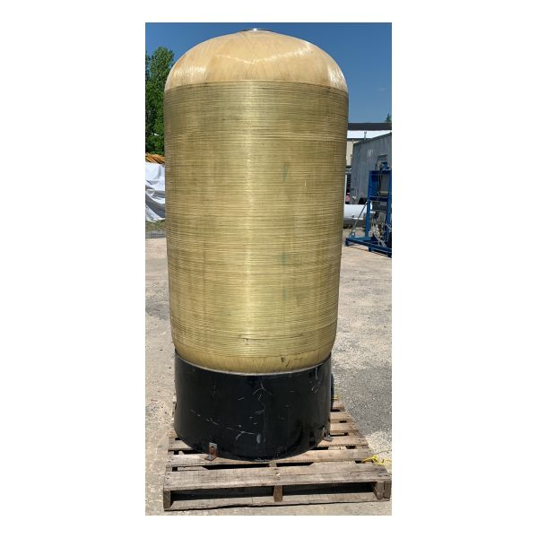 Used Carbtrol 1,000lb Carbon Vessel Stock #1553