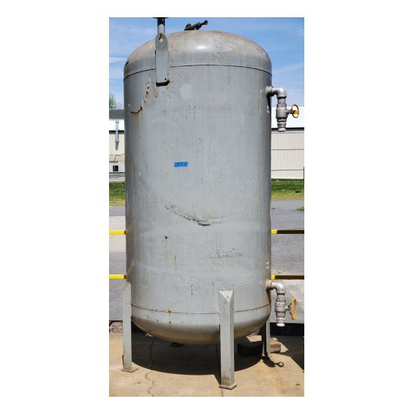 Used 2,000lb Liquid Phase Carbon Vessel Stock #1557