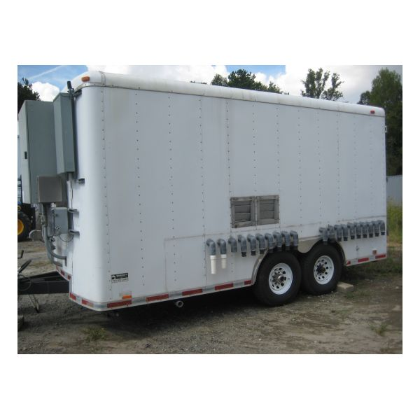 EEI-1316 Used Claw DPE Treatment Trailer