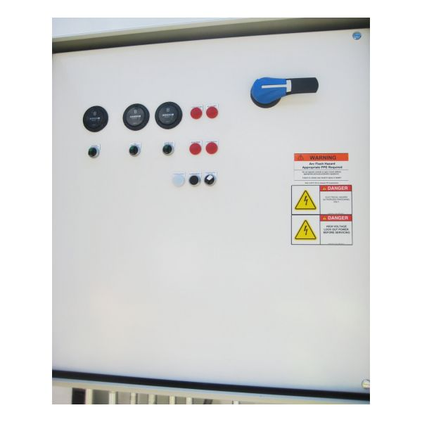 EEI-1322 Air Sparge Soil Vapor Extraction Trailer - Panel