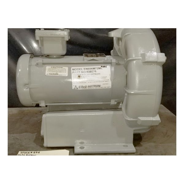 Used Rotron EN606M72ML Regenerative Blower #294
