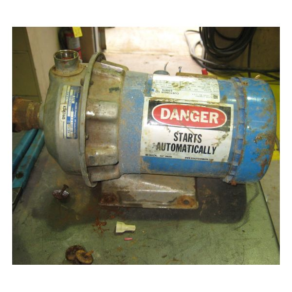 Used Goulds 1ST1E5D4 Centrifugal Pump