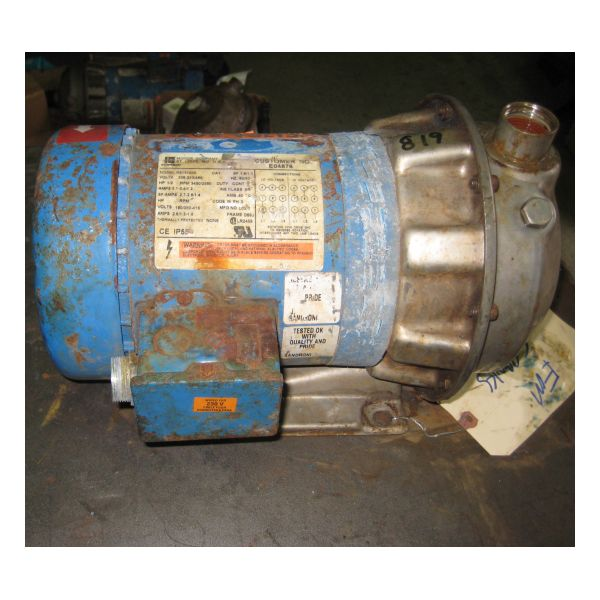 Used Goulds 1ST1C5E4 Centrifugal Pump