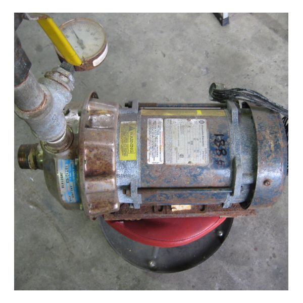 Used Goulds 1ST1D7E3 Centrifugal Pump