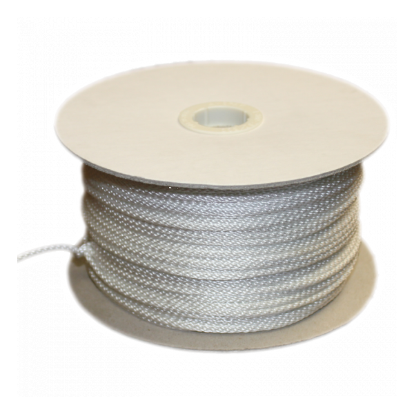 1/8 IN. Braided Nylon Rope, 500 ft. roll