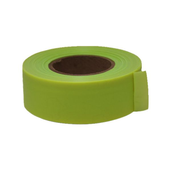 Lime Flagging Tape, 150 ft roll