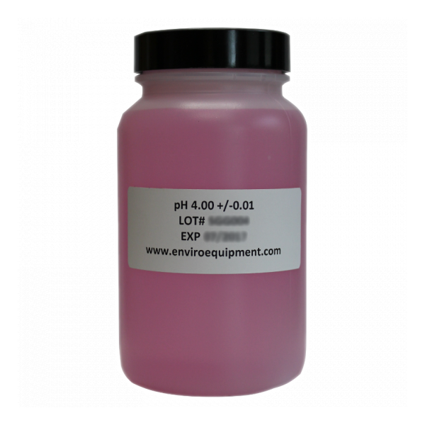 pH 4 Buffer Calibration Solution, 250 mL