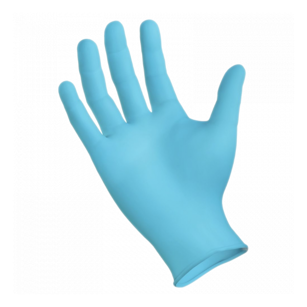 SMC Blue Nitrile Powder-Free Textured Gloves
